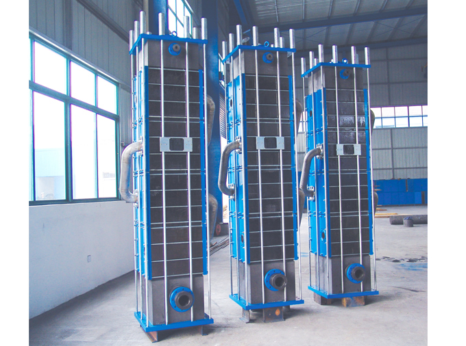 Cubic heat exchanger